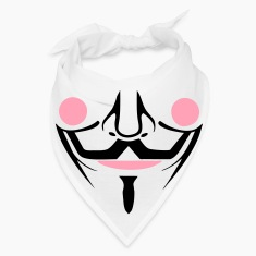 guy fawkes bandanna mask