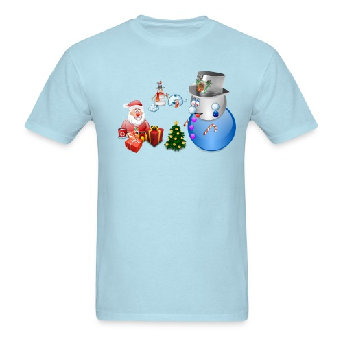 Christmas Scene 1 - Men's T-Shirt