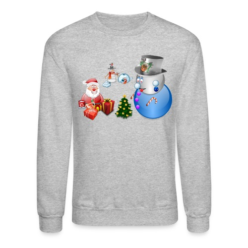 Christmas Scene 1 - Crewneck Sweatshirt