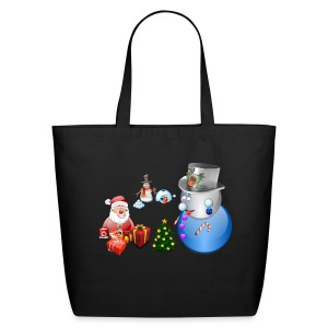 Christmas Scene 1 - Eco-Friendly Cotton Tote