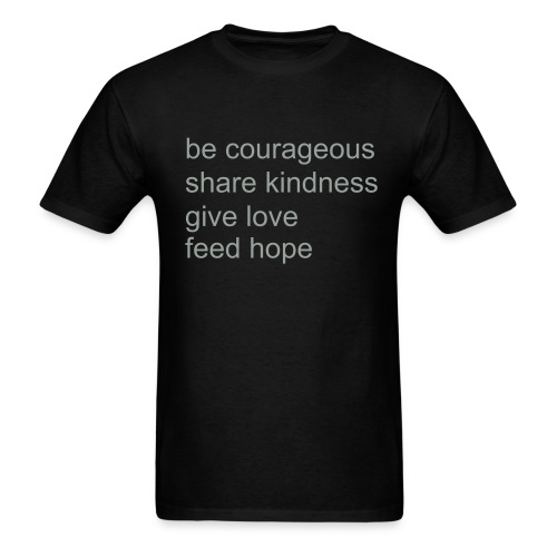 How-To Feed Hope Men's Shirt - Men's T-Shirt