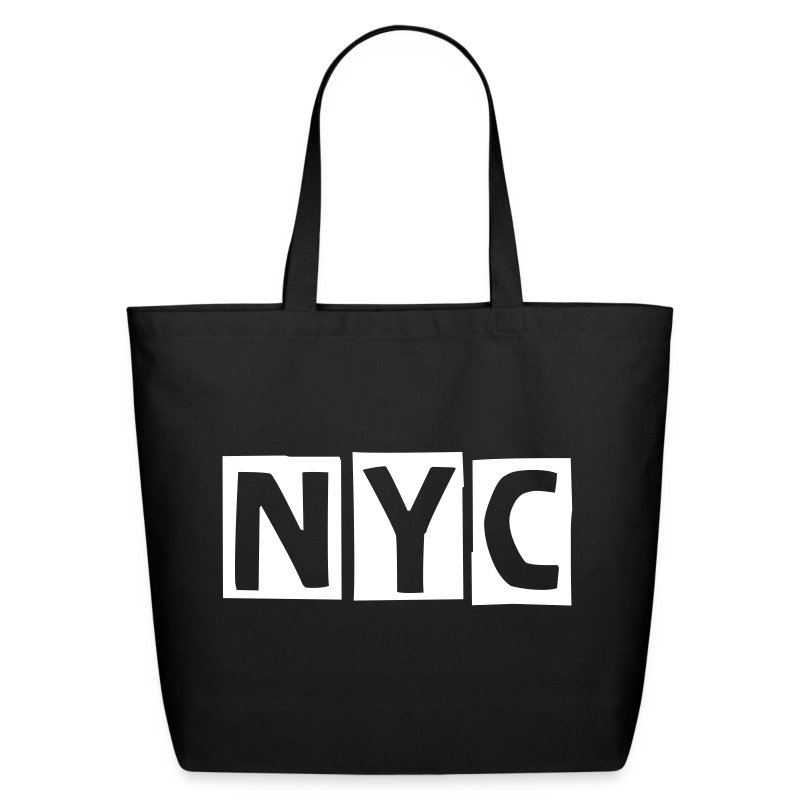Tote - Bag  NEW YORK CITY   style. - Eco-Friendly Cotton Tote