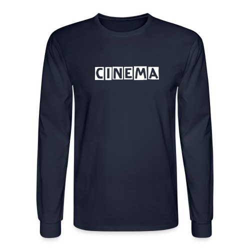 Mens CINEMA designed  Long sleeve shirt - Men's Long Sleeve T-Shirt