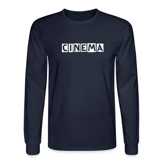 Cinema   mens  long sleeve.