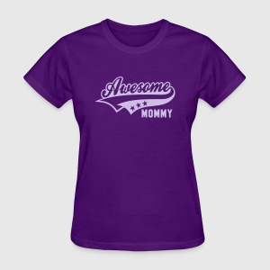 Awesome MOMMY T-Shirt LP - Women's T-Shirt