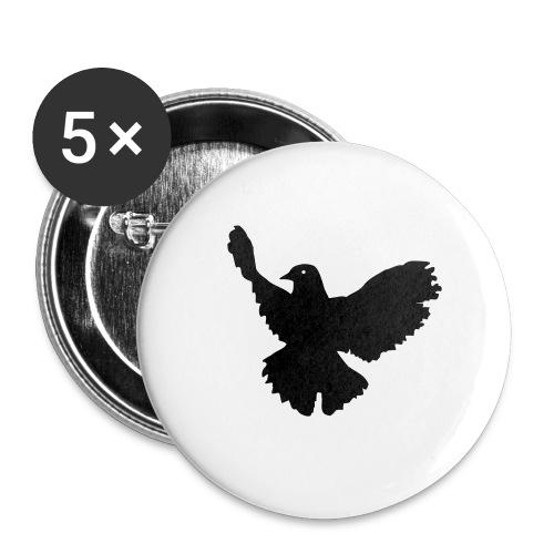 Carpe Diem Button's x5 - Buttons large 2.2'' (5-pack)