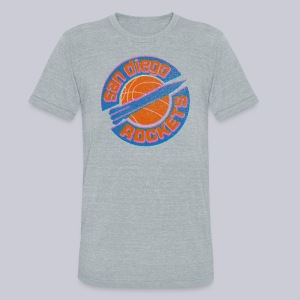 San Diego Rockets - Unisex Tri-Blend T-Shirt by American Apparel