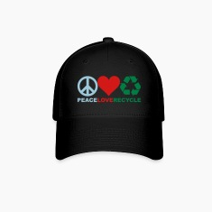 Peace Love Recycle Hat