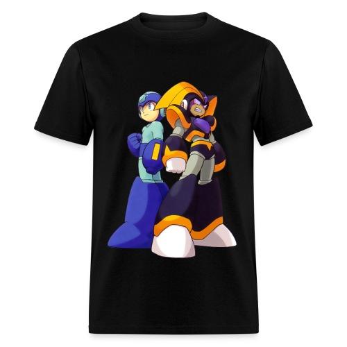 Megaman and Bass - Men's T-Shirt