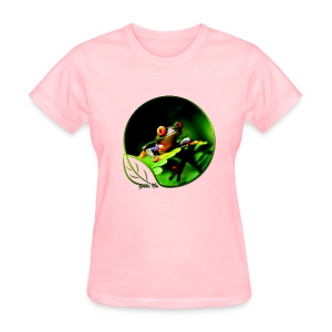 Green Life Series - Tree Frog - Women's T-Shirt