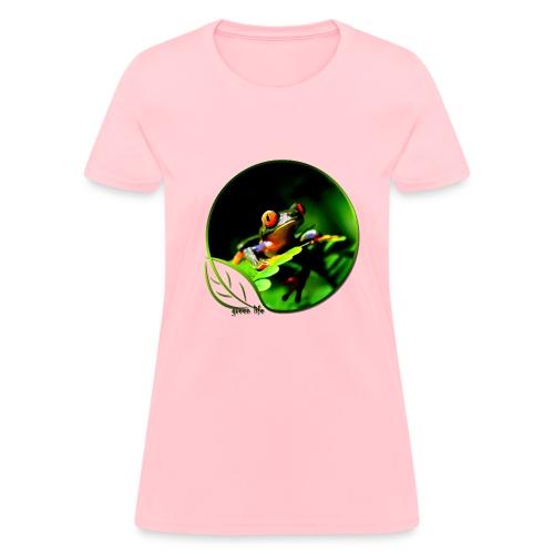 Green Life Series - Tree Frog - Women's T-Shirt