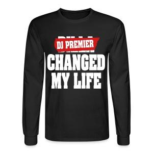 DJ Premier Tribute Long Sleeve T Shirt - Men's Long Sleeve T-Shirt