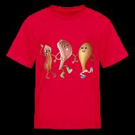 Kids' Shirts ~ Kids' T-Shirt ~ Happy to Meat You! Kids' T-Shirt