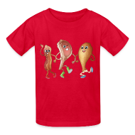 Kids' Shirts ~ Kids' T-Shirt ~ Happy to Meat You! Kids' T-Shirt