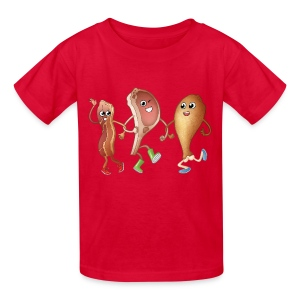 Happy to Meat You! Kids' T-Shirt - Kids' T-Shirt