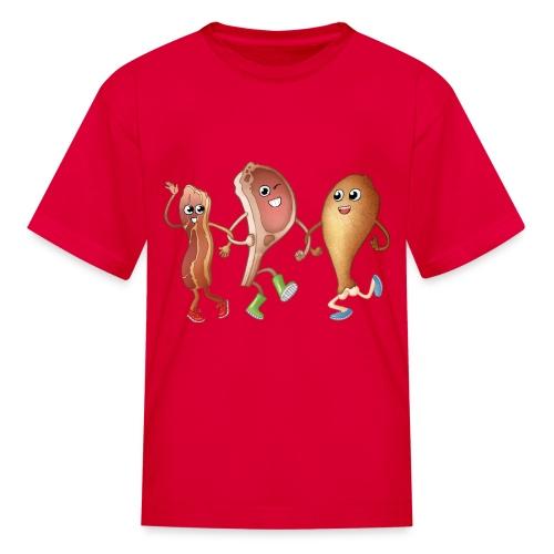 Happy to Meat You! Kids' T-Shirt - Kids' T-Shirt