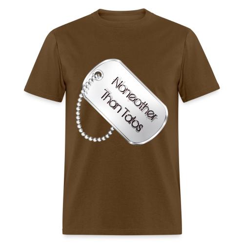 Talos' Dogtag - Male - Men's T-Shirt