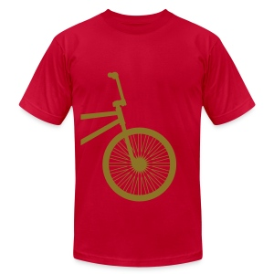 BMX Gold- American Apparel AA Shirt (M) - Men's T-Shirt by American Apparel