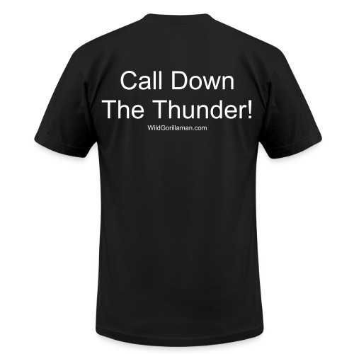 Mens SAVAGE Call Down The Thunder! Tee - Men's Fine Jersey T-Shirt