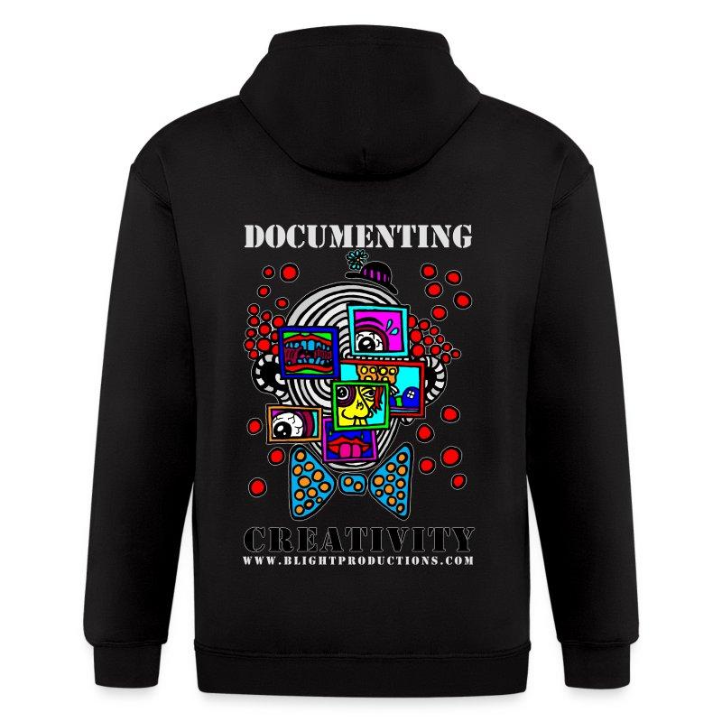 Documenting Creativity Hoodie - Men's Zip Hoodie