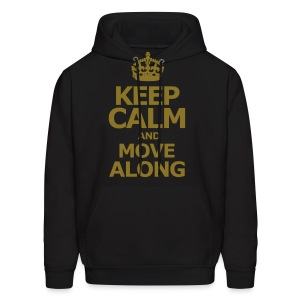 KEEP CALM AND MOVE ALONG - Men's Hoodie