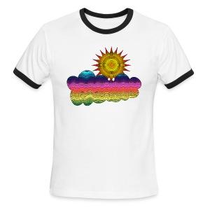 Got the sun in the 70's - Men's Ringer T-Shirt