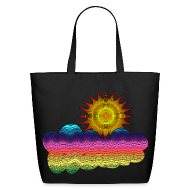 Bags & backpacks ~ Eco-Friendly Cotton Tote ~ Got the sun in the 70's