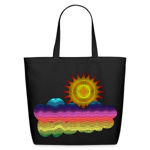 Got the sun in the 70's - Eco-Friendly Cotton Tote