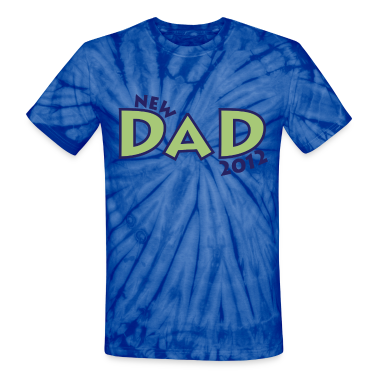 New Dad 2012 T-Shirts