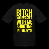 T-Shirts ~ Men's Tall T-Shirt ~ Shooting with me