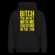 Hoodies ~ Men's Hoodie ~ Shooting with me