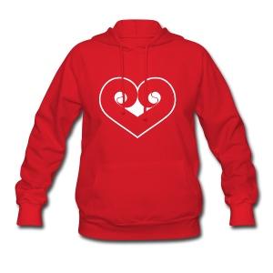 Womens Philly Heart Sweatshirt - Women's Hoodie