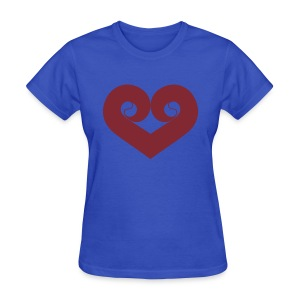 Home Of The Original  Philly  Heart Shirt - Womens - Women's T-Shirt