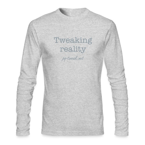 Tweaking reality - Men's Long Sleeve T-Shirt by Next Level