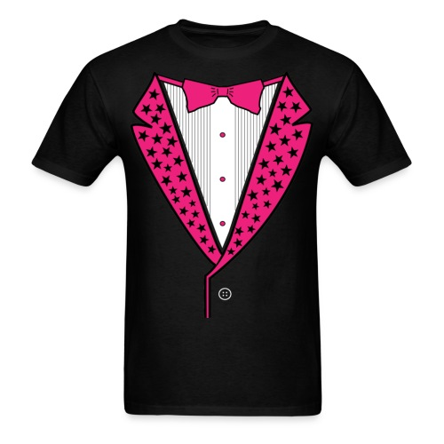 Fashionista's Tuxedo - Men's T-Shirt