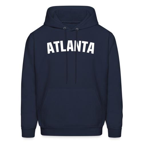 Atlanta Hoodie - Navy/White - Men's Hoodie