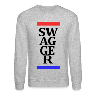 Long Sleeve Shirts ~ Crewneck Sweatshirt ~ Swagger Stripes