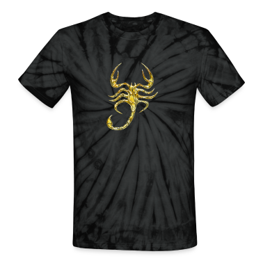 Scorpion, digital gold, Scorpio T-Shirts