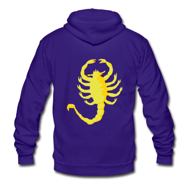 "Scorpion ""Drive"", 2c, Scorpio,  Zip Hoodies/Jackets"