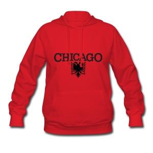 Chicago Albanian Flag - Women's Hoodie