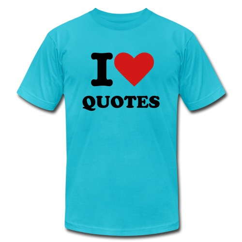 Men's I Heart Quotes T-Shirt - Men's  Jersey T-Shirt