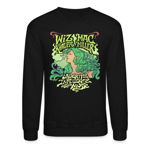 Wiz Khalifa and Mac Miller Under the Influence of Music Crewneck - Crewneck Sweatshirt
