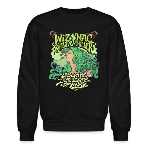 Wiz Khalifa and Mac Miller Under the Influence of Music Crewneck - Crewneck Sweatshirt