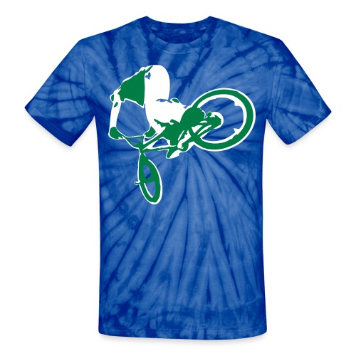 Bmx Nose  - Unisex Tie Dye T-Shirt