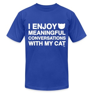 Meaningful Conversations - Men's T-Shirt by American Apparel