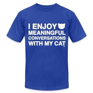 Meaningful Conversations - Men's Fine Jersey T-Shirt