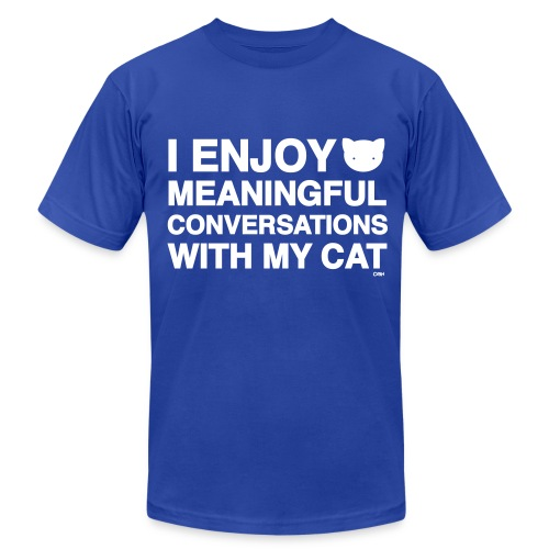 Meaningful Conversations - Men's  Jersey T-Shirt