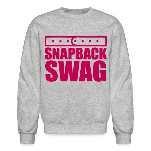 Snapback Swag Crewneck - Crewneck Sweatshirt