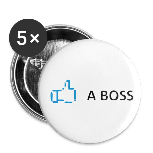 Like a Boss Large Button - Small Buttons