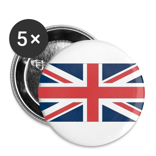 England. - Large Buttons
